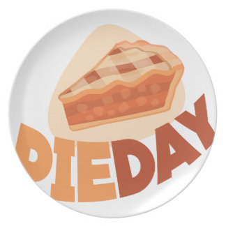 23rd January - Pie Day - Appreciation Day Party Plates