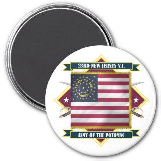 23rd New Jersey Volunteer Infantry Magnet