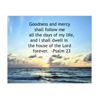 23RD PSALM SUNRISE PHOTO DESIGN CANVAS PRINT