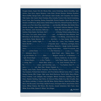 23x35 Print - Atheist Apparel Roll - Blue