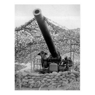 240mm howitzer of Battery B 697th Field Artillery Postcard