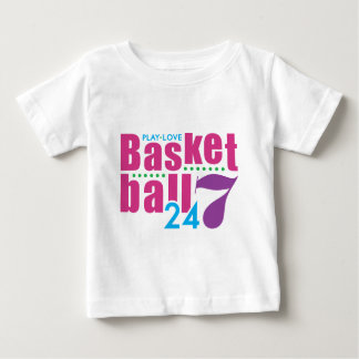 24/7 Basketball Baby T-Shirt