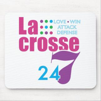 24 7 Lacrosse Mouse Pad