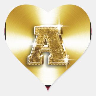 24 Carat a.jpg Heart Sticker
