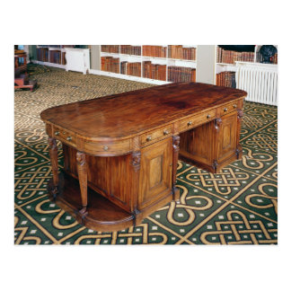 24:Desk by Thomas Chippendale Jr, 1805 Postcard