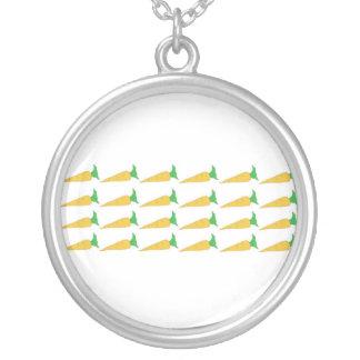 24 Golden Carrots necklace