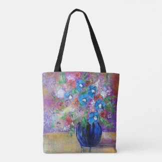 """24 Hour Bouquet"" Tote Bag Art by Sheryl Amburgey"