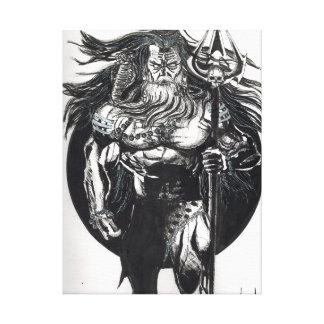 "24"" x 18"", Shiva Art Canvas Print"