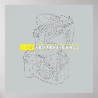 "24"" x 24"", Value Poster Paper (Matte) Nikon Camera"