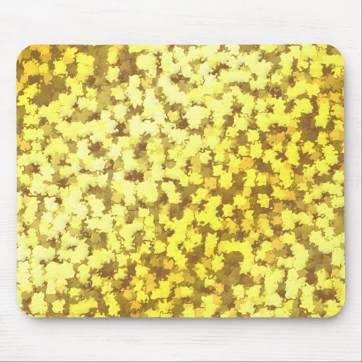 24k Gold Leaf Camo Mousepads