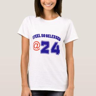 24th birthday design T-Shirt