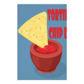 24th February Tortilla Chip Day - Appreciation Day Stationery
