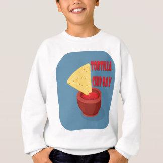 24th February Tortilla Chip Day - Appreciation Day Sweatshirt