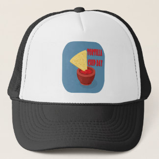 24th February Tortilla Chip Day - Appreciation Day Trucker Hat