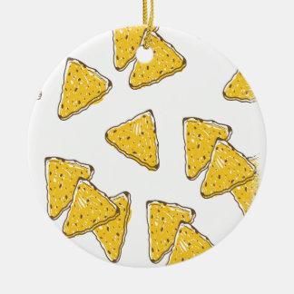 24th February - Tortilla Chip Day Ceramic Ornament
