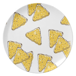24th February - Tortilla Chip Day Plate