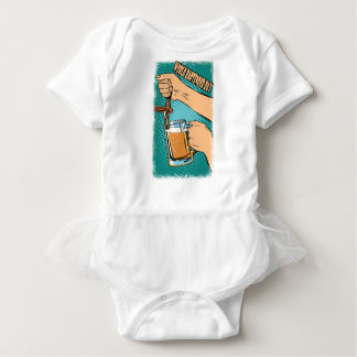 24th February - World Bartender Day Baby Bodysuit