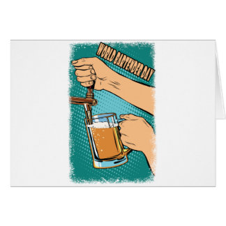 24th February - World Bartender Day Card