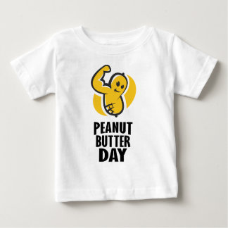 24th January - Peanut Butter Day Baby T-Shirt