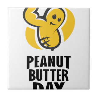 24th January - Peanut Butter Day Tile