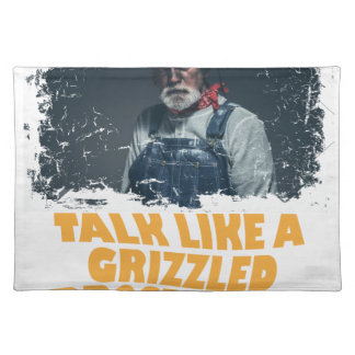 24th January - Talk Like A Grizzled Prospector Day Placemat