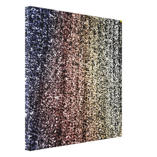 24th Pattern; Abstraction Canvas Print