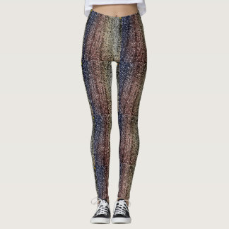 24th Pattern; Abstraction Leggings