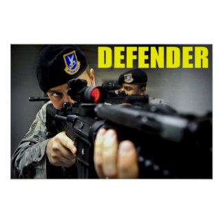 24th Security Forces Poster