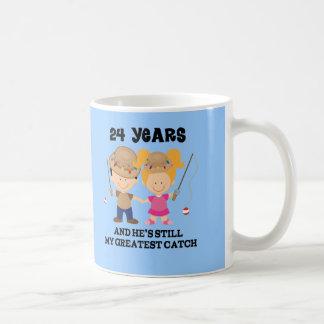 24th Wedding Anniversary Gift For Her Coffee Mug