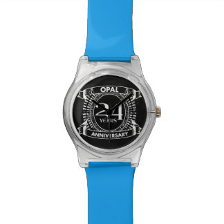 24TH wedding anniversary opal Watch