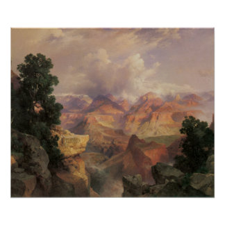 24x20 Vintage Grand Canyon Poster