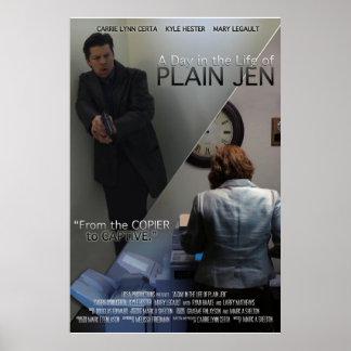 24x36Poster Plain Jen Print