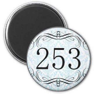 253 Area Code Magnet