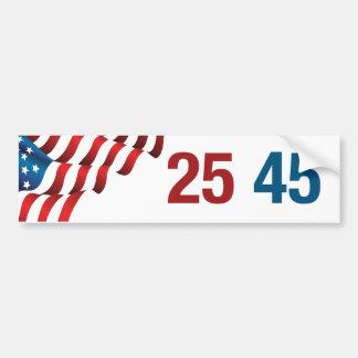 25 45 Bumper Sticker