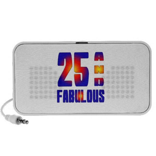 25 And Fabulous Speakers