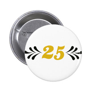 25 anniversary pin