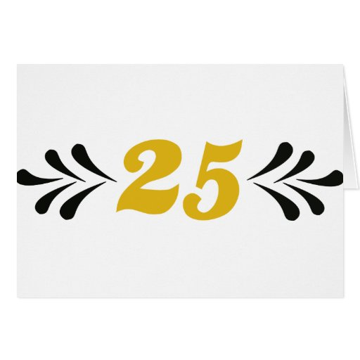 25 anniversary greeting cards