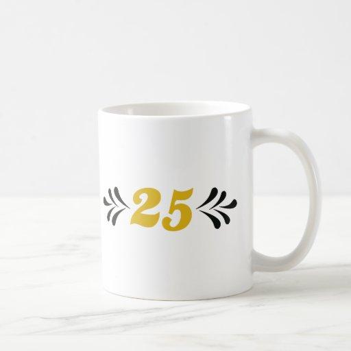 25 anniversary coffee mug