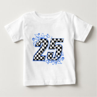 25 blue racing number baby T-Shirt