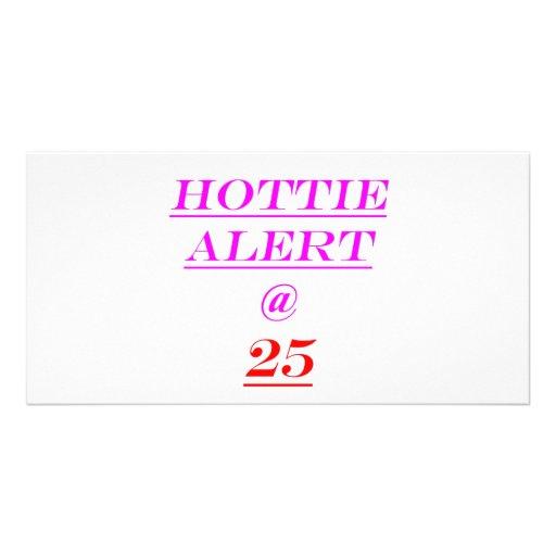 25 Hottie Alert Photo Cards