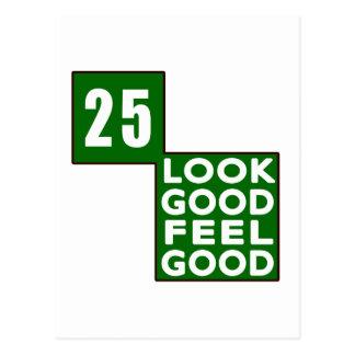 25 Look Good Feel Good Post Cards