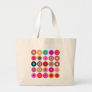 25 Mandalas II Jumbo Tote Bag