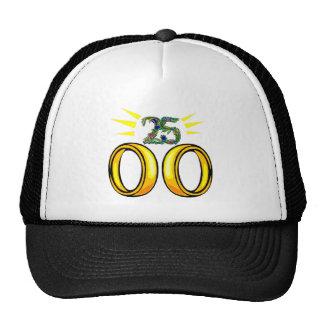 25 wedding anniversary t mesh hats