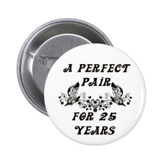 25 Year Anniversary Button