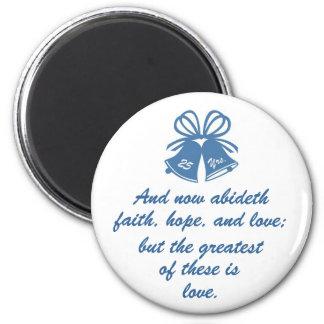 25 Year Wedding Anniversary Magnet