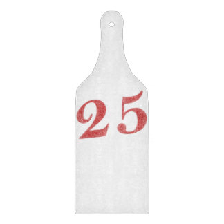 25 years anniversary cutting boards