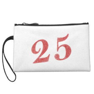 25 years anniversary wristlet purses