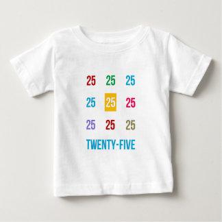 25th 25 Twentyfifth Birthday Anniversary GIFTS xxv Baby T-Shirt