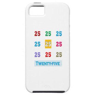 25th 25 Twentyfifth Birthday Anniversary GIFTS xxv iPhone 5 Covers
