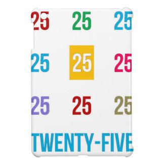 25th 25 Twentyfifth Birthday Anniversary GIFTS xxv Case For The iPad Mini